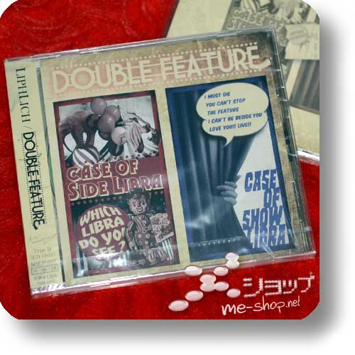 LIPHLICH - DOUBLE FEATURE (CD only D-Type inkl. Bonustrack)-0