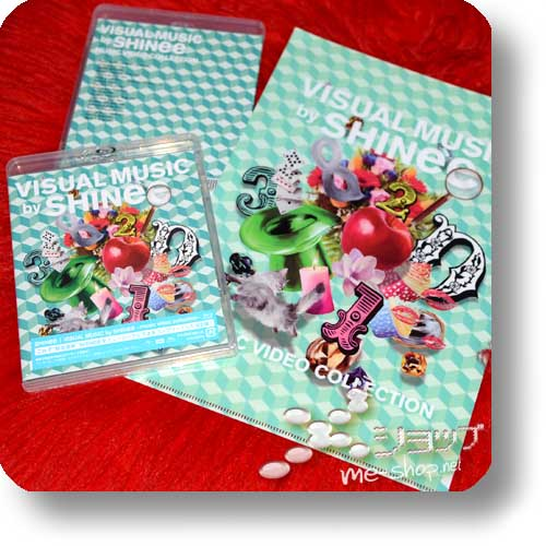 SHINee - VISUAL MUSIC by SHINee ~music video collection~ (DVD) +Bonus-Clearfile!-0