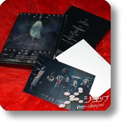 DIR EN GREY - Utafumi (feat. SUGIZO / LIM. BOX CD+Live-DVD) +Bonus-Fotopostkarte!-0