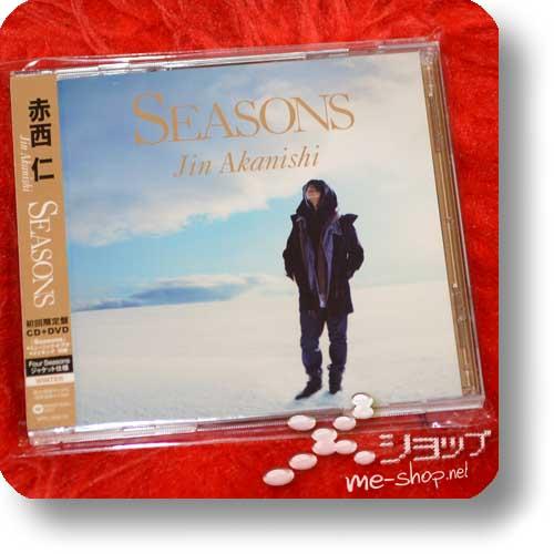 "JIN AKANISHI - Seasons (CD+DVD ""Winter"" ver. / KAT-TUN) (Re!cycle)-0"