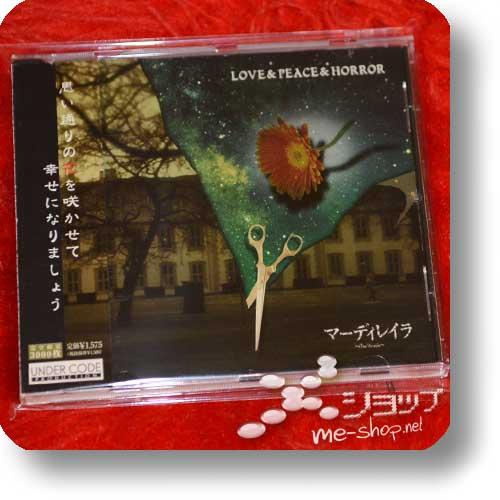 MAR'DERAYLA (~Mar'derayla~) - LOVE & PEACE & HORROR (lim.3000! / Phantasmagoria) (Re!cycle)-0