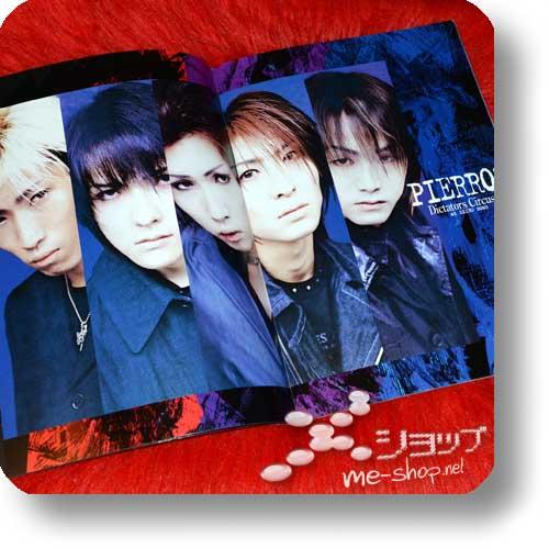 PIERROT - Dictators Circus V at SEIBU DOME 2000.7.23 Original Tour Pamphlet (Re!cycle)-16444