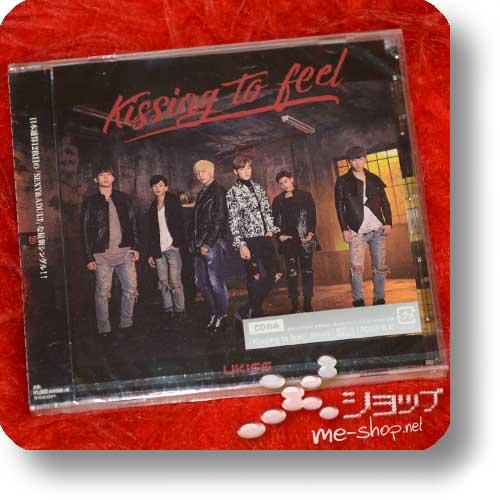 U-KISS (UKISS) - Kissing to feel (inkl.Bonustrack!)-0
