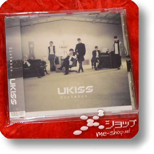 U-KISS (UKISS) - Distance... (inkl.Bonustrack!) (Re!cycle)-0
