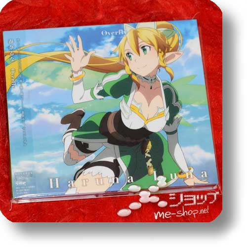 HARUNA LUNA - Overfly (LIM.CD+DVD Sword Art Online Anime Edition) (Re!cycle)-0