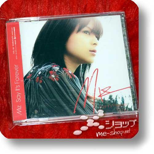 MIZ - Say It's Forever LIM.CD+DVD (Mizuki Watanabe / Mizrock) (Re!cycle)-0