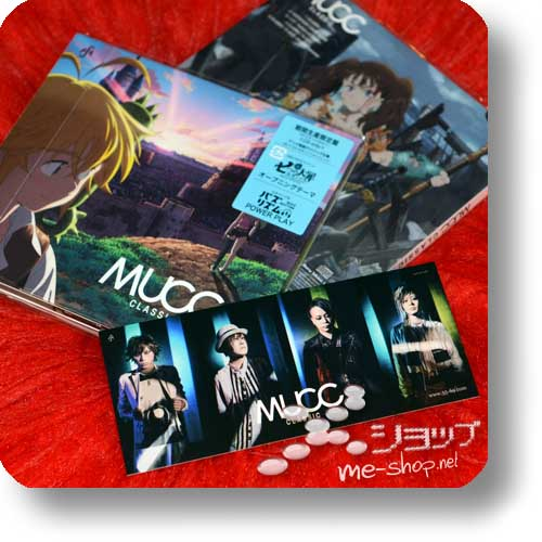 MUCC - CLASSIC (lim. Digipak Anime Edition / Nanatsu no Taizai) +Bonus-Fotosticker!-0