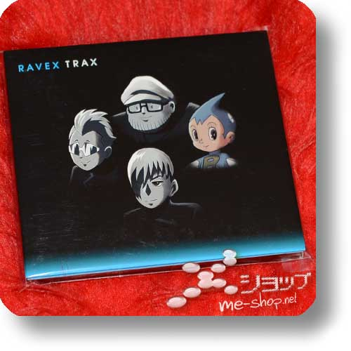 RAVEX - TRAX (lim.CD+DVD / feat. BoA, Tohoshinki, Namie Amuro, m-flo...) (Re!cycle)-17632