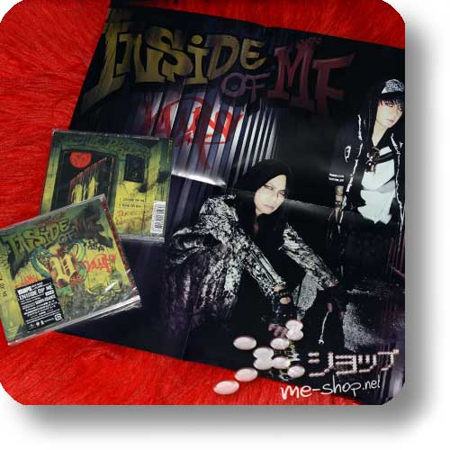 VAMPS - INSIDE OF ME (feat. Richard Kruspe/Rammstein) +Bonus-Promoposter!-0