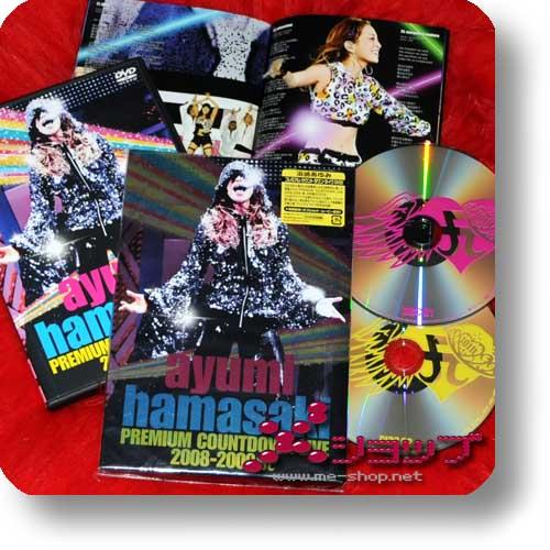 AYUMI HAMASAKI - Premium Countdown Live 2008-2009 A LIM.2DVD (Re!cycle)-0