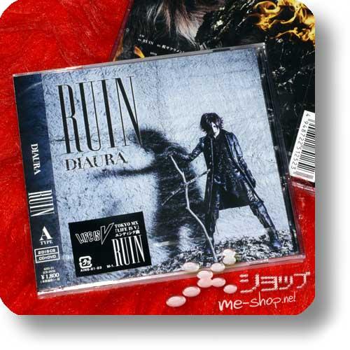 DIAURA - RUIN lim.CD+DVD A-Type +Bonus-Fotokarte-0