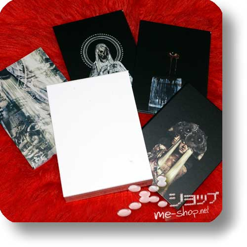 THE GAZETTE - STANDING LIVE TOUR14 HERESY LIMITED [Saiteigi] COMPLETE BOX (3DVD+Photobook / Heresy only!) (Re!cycle)-0