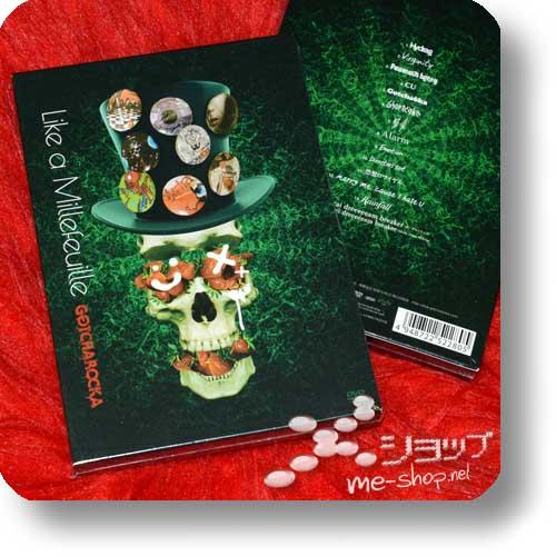 GOTCHAROCKA - Like a Millefeuille (PV-DVD) lim.1.Press-0