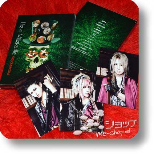 GOTCHAROCKA - Like a Millefeuille (PV-DVD) lim.1.Press +Bonus-Fotokartenset!-0