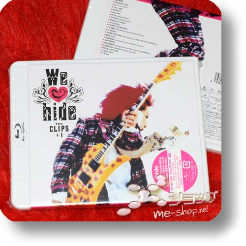 hide - We ♥ hide -The CLIPS- +1 (PV-Collection / We love hide) (Blu-ray)-17925