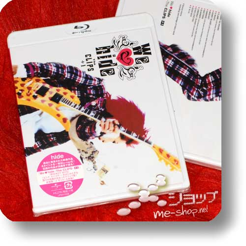 hide - We ♥ hide -The CLIPS- +1 (PV-Collection / We love hide) (Blu-ray)-0