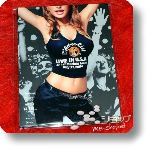 L'ARC~EN~CIEL - LIVE IN U.S.A. at 1st Mariner Arena July 31,2004 (DVD / lim.1.Press Digipak) (Re!cycle)-0