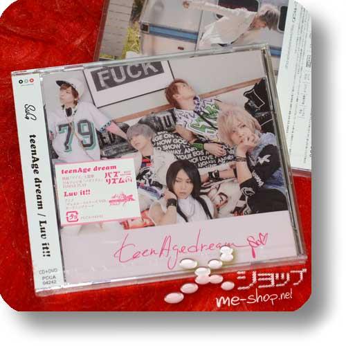 SuG - teenAge dream / Luv it!! (lim. CD+DVD) (Re!cycle)-0