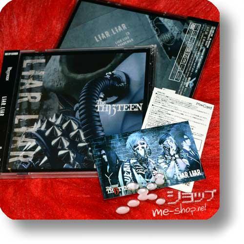 THE THIRTEEN - LIAR.LIAR. (LIM.CD+DVD B-Type)+Bonus-Tradingcard! (TH13TEEN / Sadie)-0