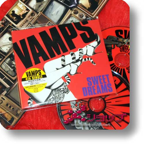 VAMPS - SWEET DREAMS (lim.CD+DVD / HYDE / K.A.Z.) (Re!cycle)-0