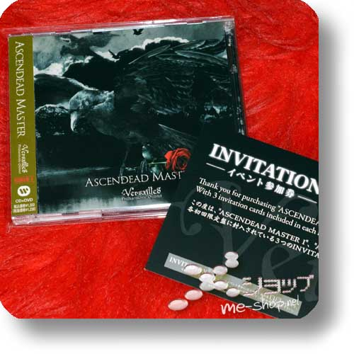 VERSAILLES - ASCENDEAD MASTER (lim.CD+DVD Type I inkl.Original-Invitation) (Re!cycle)-0