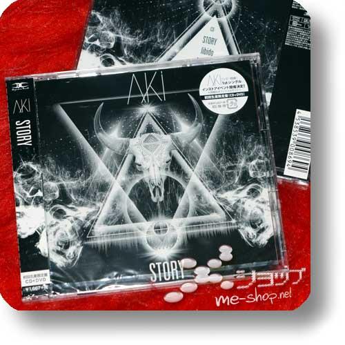 AKI - STORY lim.CD+DVD (SID)-0