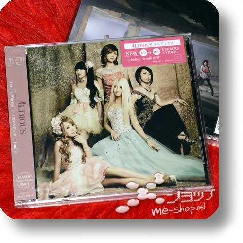 ALDIOUS - Female Warrior / Nostalgic / fragile LIM.CD+DVD B-Type-0