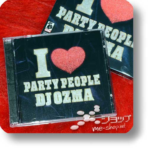 DJ OZMA - I LOVE PARTY PEOPLE lim.CD+DVD (Re!cycle)-0
