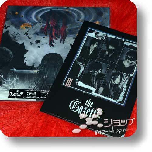 THE GAZETTE - Live Tour 15-16 Dogmatic Final -Shikkoku- (lim.Box 2DVD+LP size Pamphlet) +Bonus-Clearfile!-0