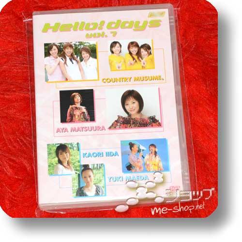 V.A. - Hello! days vol.7 (DVD) feat. Country Musume., Aya Matsuura, Kaori Iida, Yuki Maeda (Hello! Project / Morning Musume.) (Re!cycle)-0