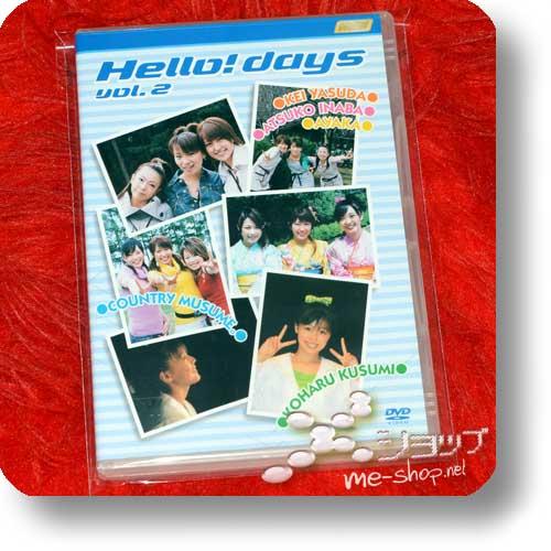 V.A. - Hello! days vol.2 (DVD) feat. Kei Yasuda, Atsuko Inaba, Ayaka, Country Musume, Koharu Kusumi (Hello! Project / Morning Musume.) (Re!cycle)-0