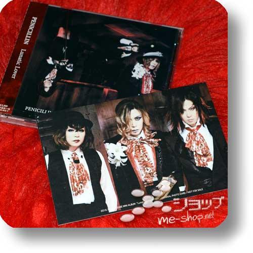 PENICILLIN - Lunatic Lover (A-Type) +Bonus-Fotopostkarte!-0