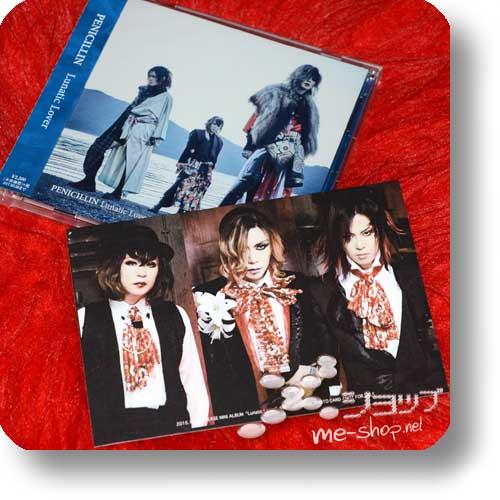 PENICILLIN - Lunatic Lover (B-Type) +Bonus-Fotopostkarte!-0