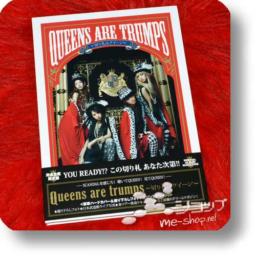 SCANDAL - Queens are trumps (lim.Special Edition CD+Photobook) (Re!cycle)-0