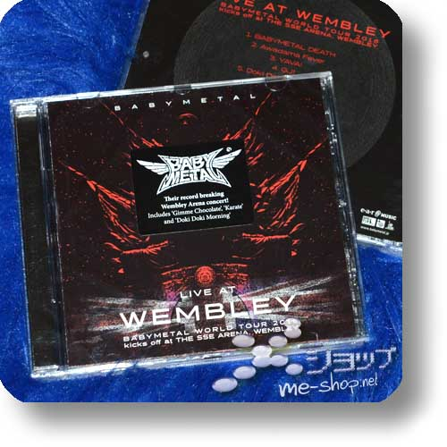 BABYMETAL - LIVE AT WEMBLEY (CD / Deutsche Pressung)-0