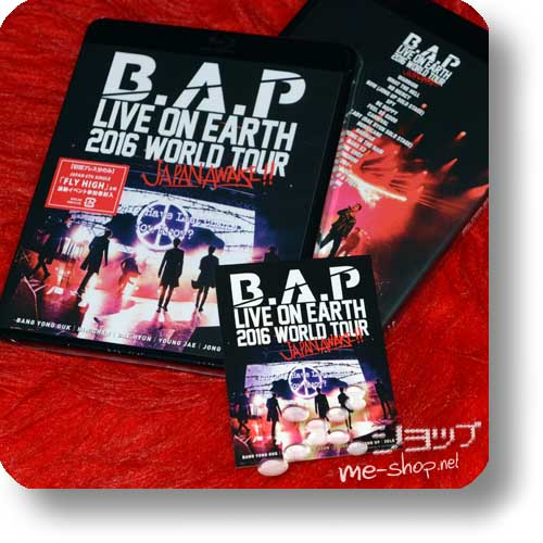 B.A.P - LIVE ON EARTH 2016 WORLD TOUR JAPAN AWAKE!! (Blu-ray) +Bonus-Sticker!-0