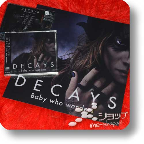"DECAYS - Baby who wanders LIM.CD+DVD ""A-Type"" +Bonus-LP sized Coverboard! (Die/Dir en grey) -0"