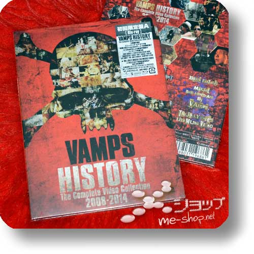 VAMPS - HISTORY -The Complete Video Collection 2008-2014 (lim.Blu-ray A-Type) +Bonus-Promoposter!-18949
