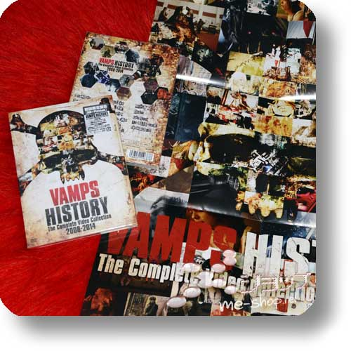 VAMPS - HISTORY -The Complete Video Collection 2008-2014 (lim.DVD+Photobook B-Type) +Bonus-Promoposter!-0