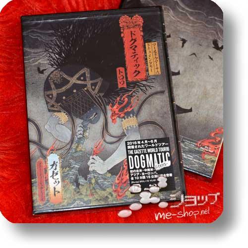 THE GAZETTE - WORLD TOUR 16 DOCUMENTARY DOGMATIC -TROIS- (Blu-ray)-0