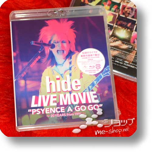 "hide - LIVE MOVIE ""PSYENCE A GO GO"" ~20 YEARS from 1996~ (Blu-ray / Dolby TrueHD 5,1/Dolby Atmos)-0"