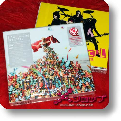 L'ARC~EN~CIEL - BUTTERFLY LIM.BOX 2CD+DVD (Re!cycle)-0