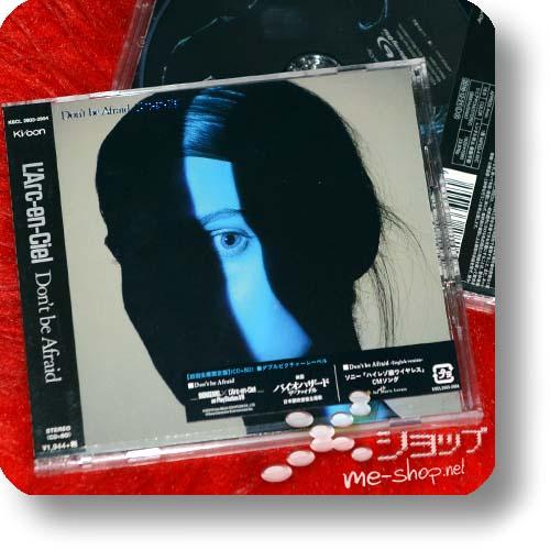 L'ARC~EN~CIEL - Don't be Afraid (lim.CD+Blu-ray)+Bonus-Tüte (BIOHAZARD)-19108