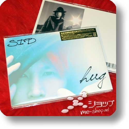 SID - hug LIM.CD+Photobook D-Type (Yuuya Ver.) (Re!cycle)-0