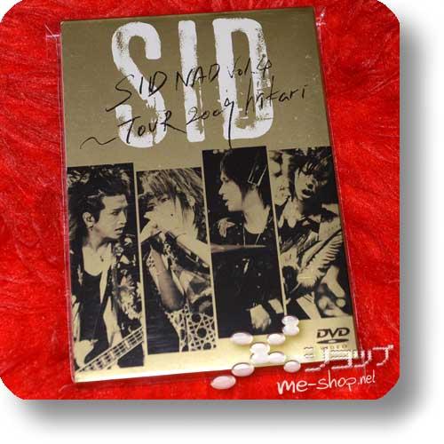 SID - SIDNAD Vol.4 ~TOUR 2009 hikari~ (2DVD / lim.1.Press) (Re!cycle)-0