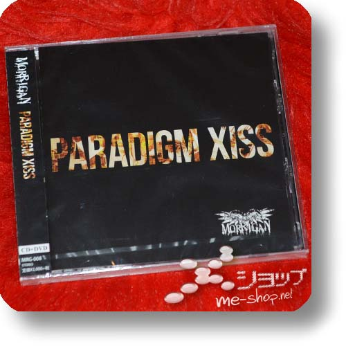 MORRIGAN - PARADIGM XISS (lim.CD+DVD) (Re!cycle)-0
