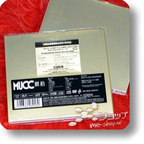 MUCC - Myakuhaku LIM.CD+DVD B-Type-0