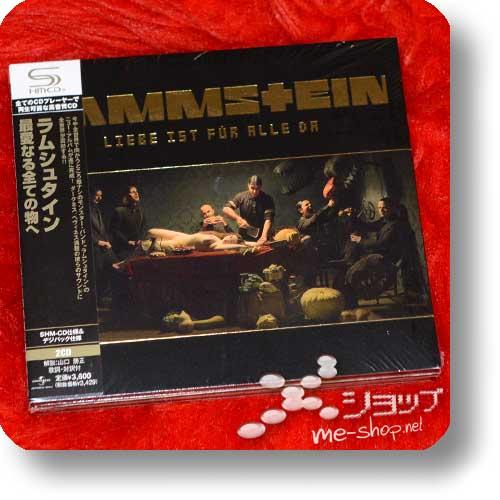 RAMMSTEIN - Liebe ist für alle da (Japan-Pressung 2CD/Digipak inkl. Bonus-CD!)-0