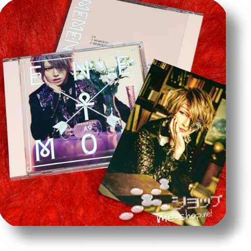 A9 - MEMENTO (lim.CD+DVD B) +Bonus-Fotokarte! (Λ9 / Alice Nine)-0