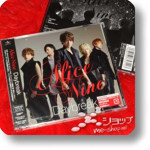 ALICE NINE - Daybreak LIM.CD+DVD (Re!cycle)-0